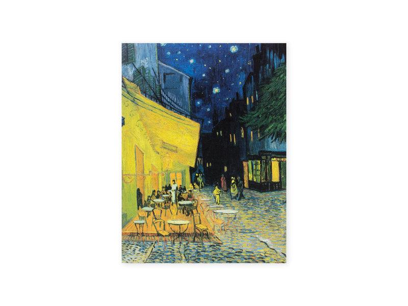 Künstlerjournal,  Terrasse eines Cafés bei Nacht, Vincent van Gogh