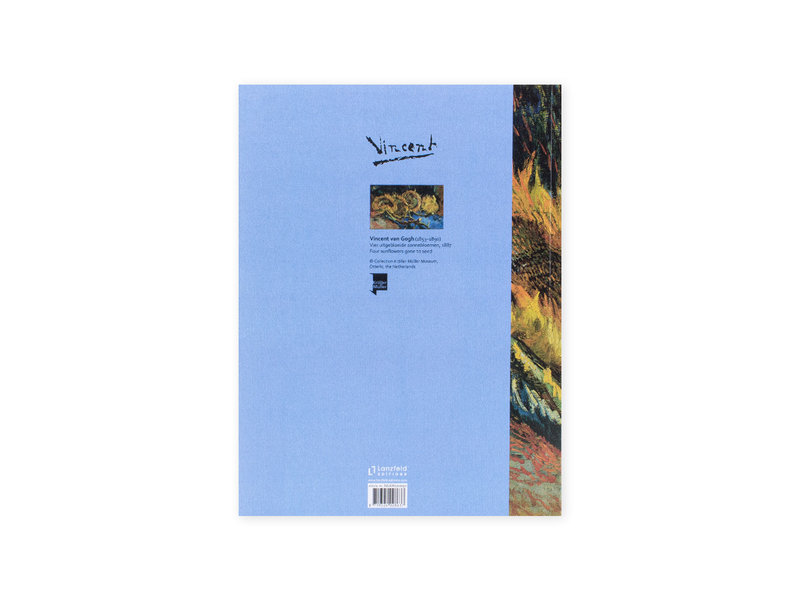 Artist Journal, Four sunflowers gone to seed, Van Gogh