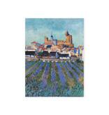 Artist Journal, View of Saintes-Maries-de-la-Mer, Van Gogh