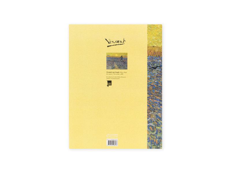 Cahier d'artiste, Le semeur, Vincent van Gogh