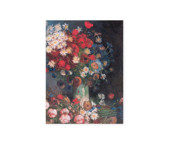 Diario del artista, Bodegón con flores y rosas de campo, Van Gogh