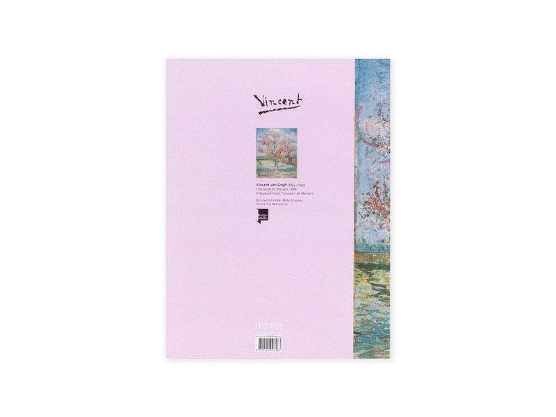 Artist Journal, Souvenir de Mauve, peach tree, Vincent van Gogh