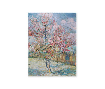 Künstlerjournal,  Rosa Pfirsichbäume Vincent van Gogh