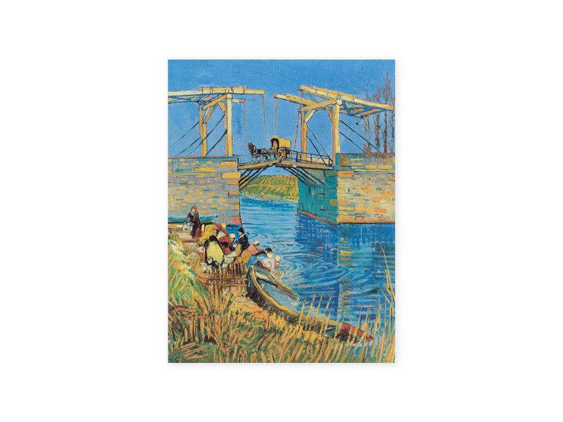 Schetsboek ,  Brug te Arles, Van Gogh