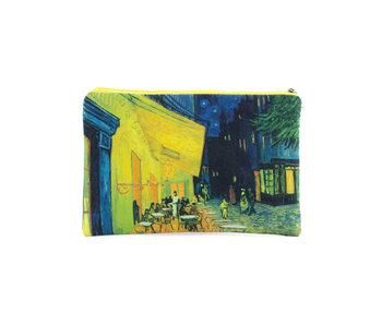 Beutel, Terrasse eines Cafés bei Nacht, Vincent van Gogh