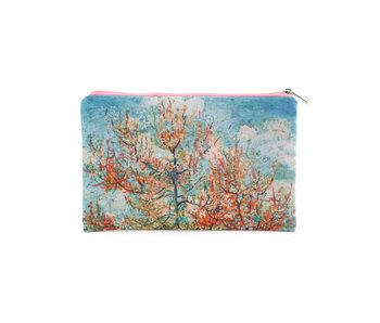 Pouch,  Pink peach trees, Vincent van Gogh