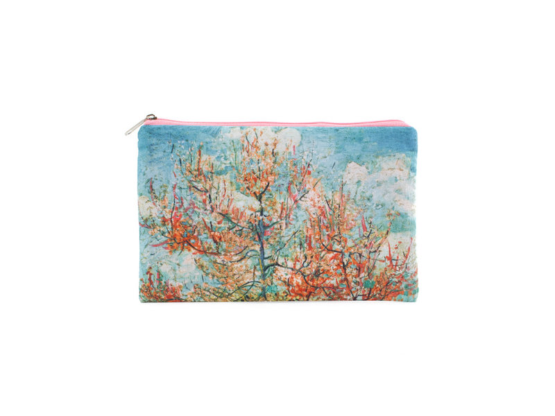 Trousse / trousse à maquillage, Pêchers roses Vincent van Gogh