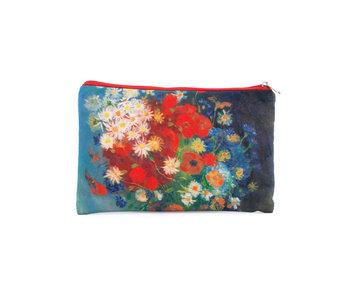 Beutel, Stillleben mit Feldblumen und Rosen, Van Gogh