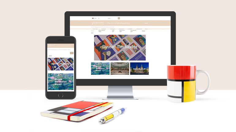 Lanzfeld Editions: renewed website for museum merchandise !!