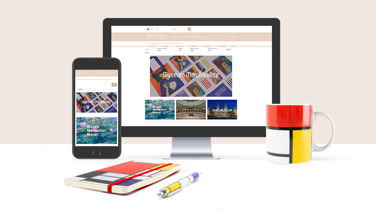 Le site Web renouvelé des éditions Lanzfeld pour les produits du musée!