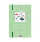 Softcover-Notizbuch, A5, Mohn, Hortus Botanicus