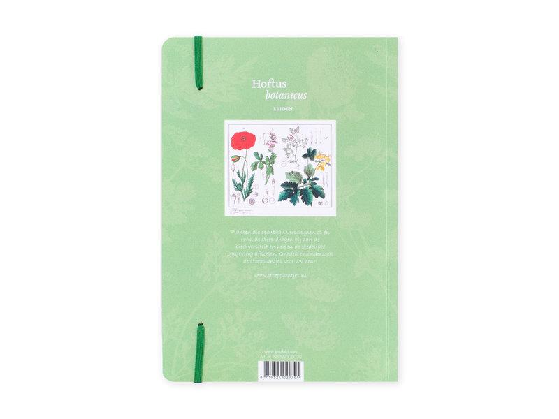 Carnet à couverture souple, A5, Coquelicot, Hortus Botanicus