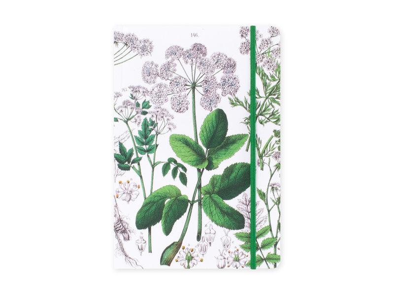 Carnet à couverture souple, A5,Zevenblad, Hortus Botanicus