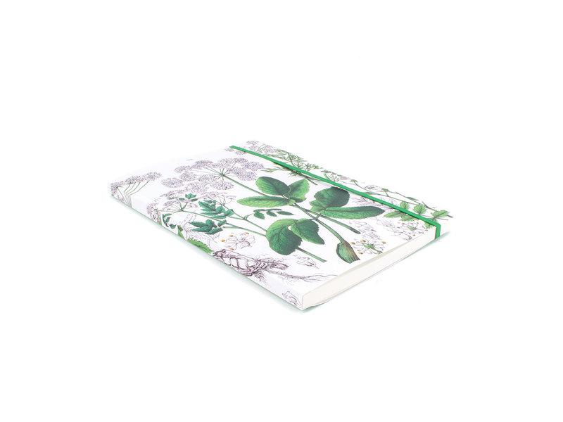 Softcover notitieboekje, A5,  Zevenblad, Hortus Botanicus
