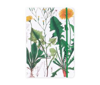 Cuaderno de tapa blanda, A5,  Diente de león, Hortus Botanicus