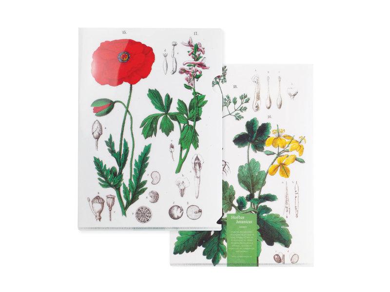 Porte-documents A4, Coquelicot, Hortus Botanicus
