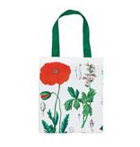 Cotton Tote Bag Luxe, Poppy, Hortus Botanicus