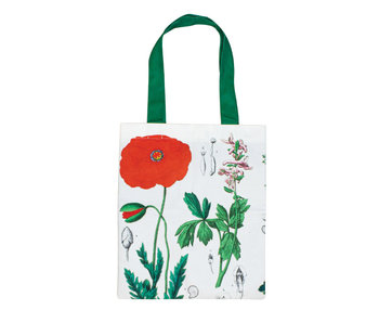Cotton Tote Bag Luxe, Poppy, Hortus Botanicus