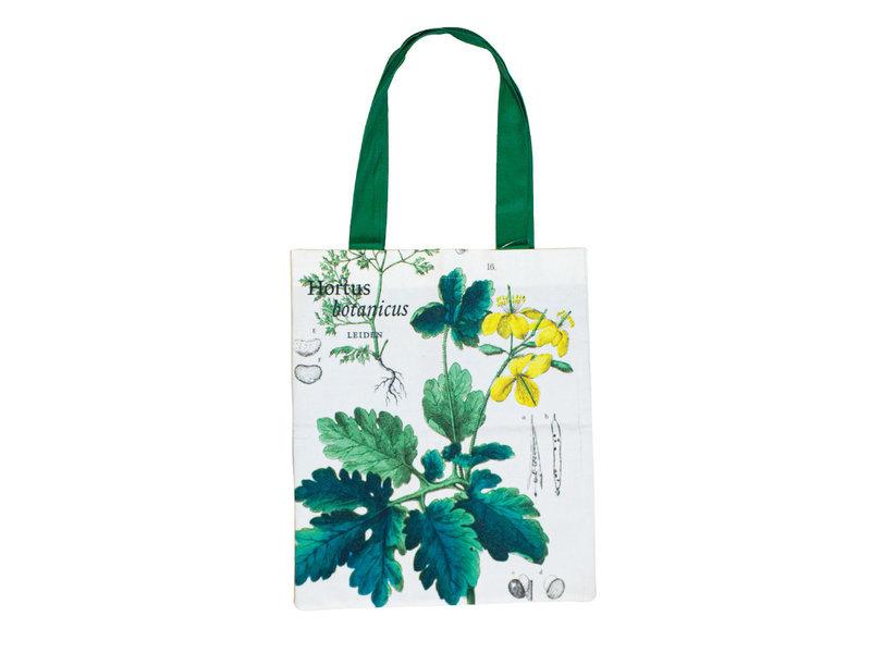 Sac fourre-tout en coton Luxe, Coquelicot, Hortus Botanicus