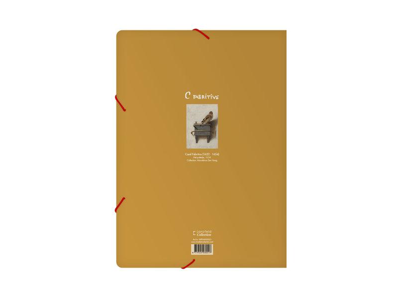 Carpeta archivadora de papel , A4,  El jilguero, Fabritius