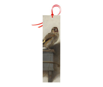 Classical bookmark, Goldfinch, Carel Fabritius