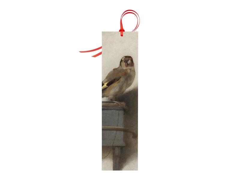 Classical bookmark, Goldfinch, Carel Fabritius