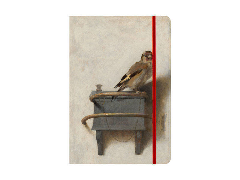 Softcover-Notizbuch, A5, Der Stieglitz, Carel Fabritius