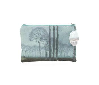 Neceser, Jan Mankes, hilera de árboles