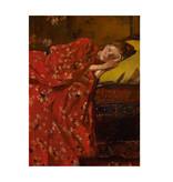 Softcover kunst schetsboek,  Breitner, Meisje in rode kimono
