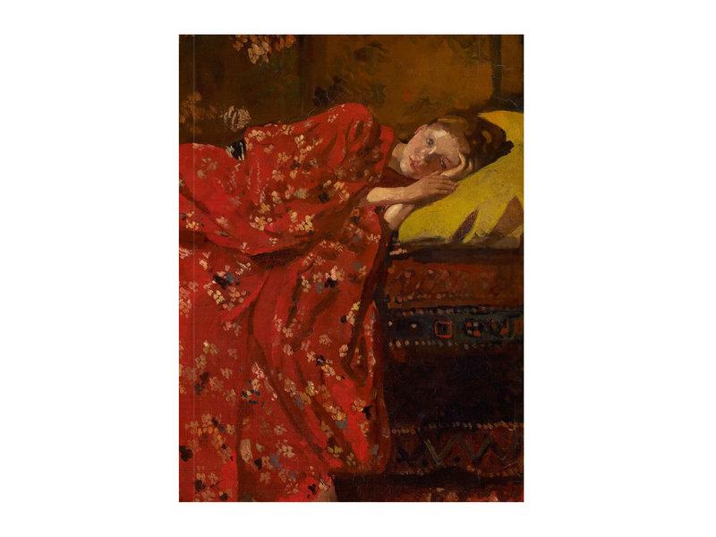 Künstlerjournal, Breitner, Mädchen im roten Kimono