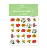 Stickervel, Botanical Art, Hortus Botanicus