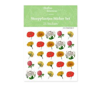 Stickersheet, Botanical Art, Hortus Botanicus