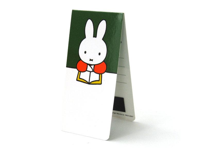 3er Set, magnetisches Lesezeichen, Miffy zu Hause