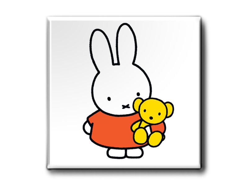 Aimants, lot de 3, Miffy à la maison