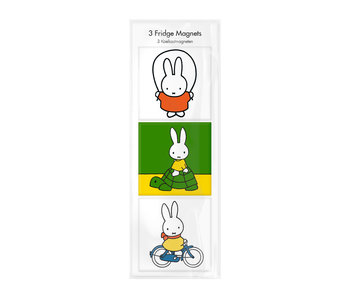Magnets pour frigo, lot de 3, Miffy joue