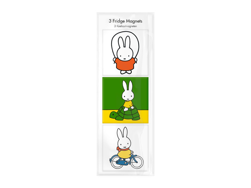 Magnete, 3er-Set, Miffy spielt