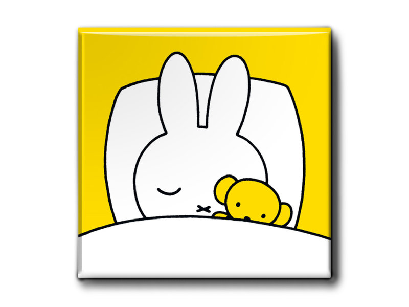 Fridge magnets, Set of 3, Miffy sleeping time