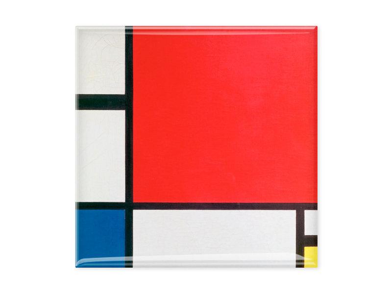 Aimants pour réfrigérateur, lot de 3, Mondrian