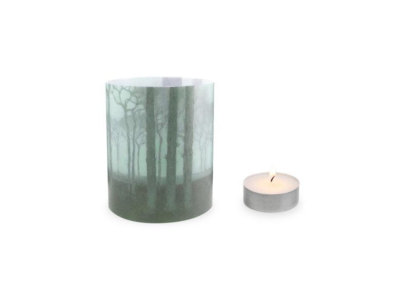 Kerzenschirm, Jan Mankes, Baumreihe