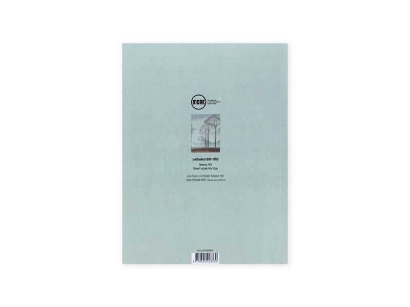 Softcover Kunst Skizzenbuch,  Jan Mankes, Baumreihe