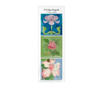 Fridge magnets, Set of 3, Art Nouveau 2