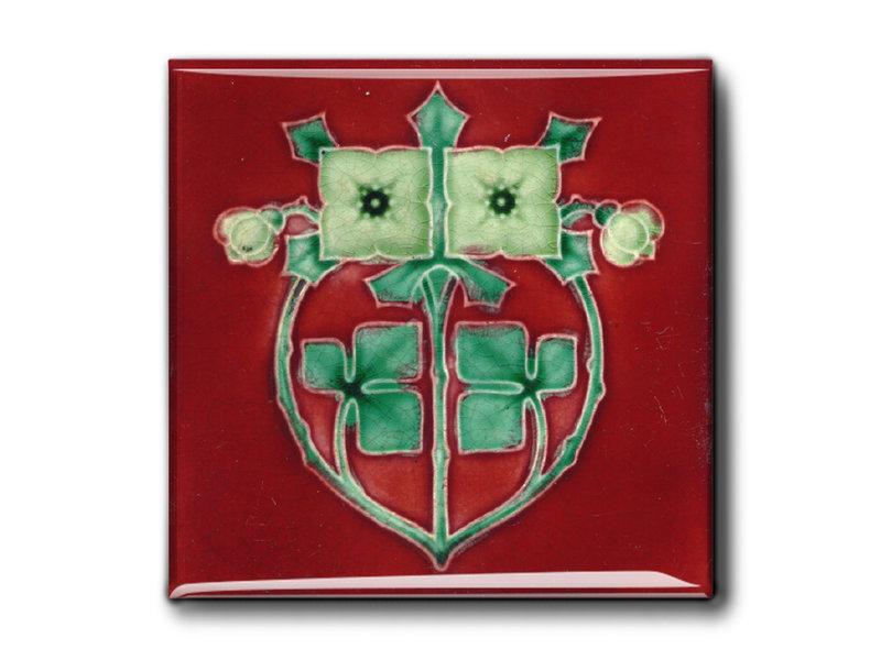 Imanes de nevera, juego de 3, Art Nouveau 1