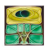 Magnets pour frigo, lot de 3, Art Nouveau 1
