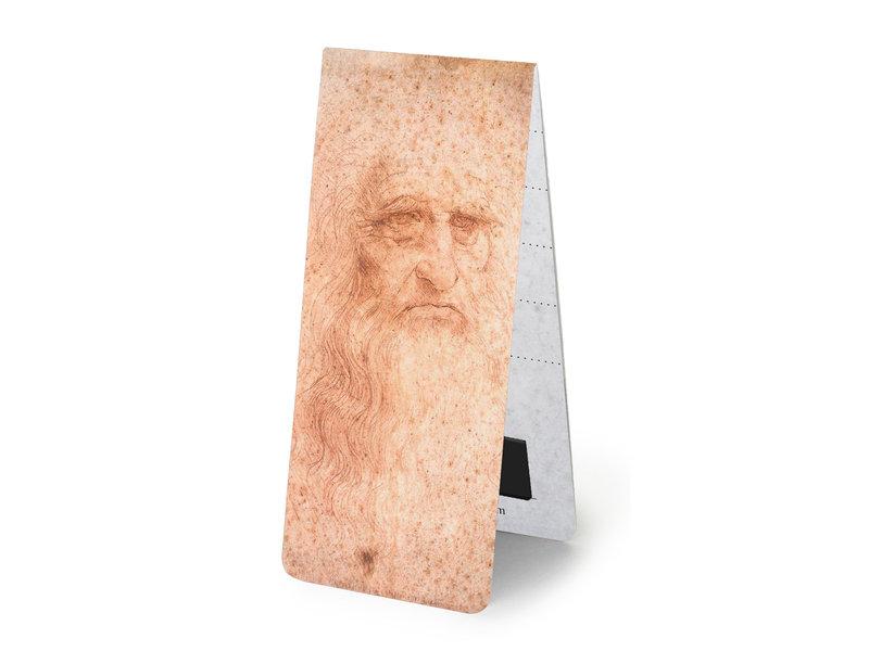 Lot de 3, signets magnétiques, Leonardo Da Vinci