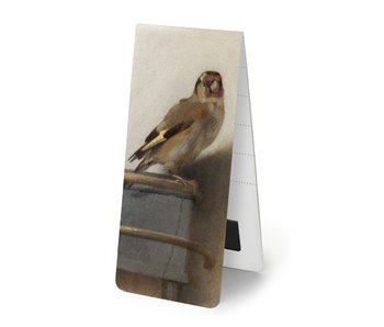 Magnetic Bookmark, Carel Fabritius, The Goldfinch