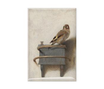 Kühlschrankmagnet, Der Stieglitz, Fabritius