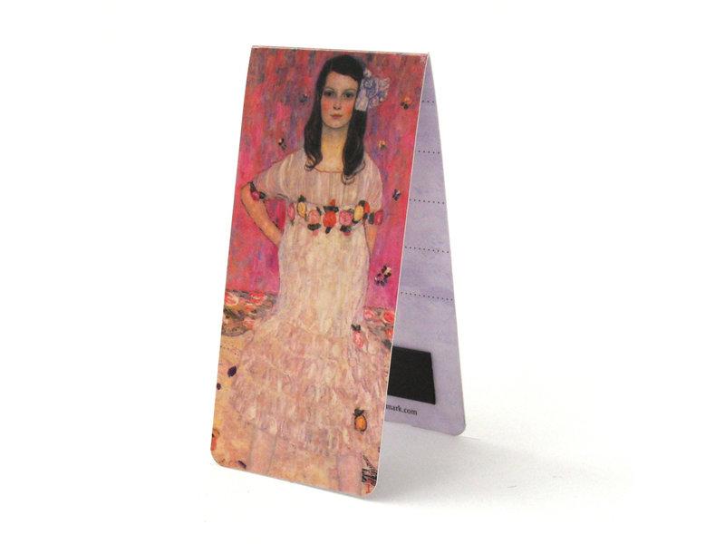 3er-Set, magnetisches Lesezeichen,  Klimt