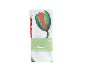 Tea Towel, Poppy, Hortus Botanicus