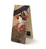 Juego de 3, marcapaginas magnético arte japonés