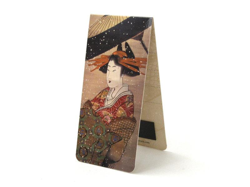 Lot de 3, signets magnétiques,  Art japonais